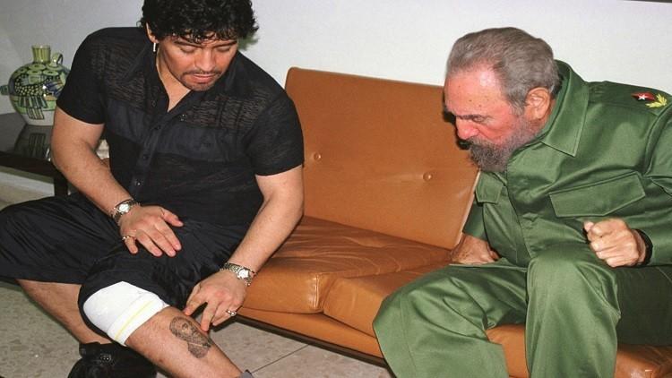 مارادونا: كاسترو رجل عظيم وكان بمثابة أب لي