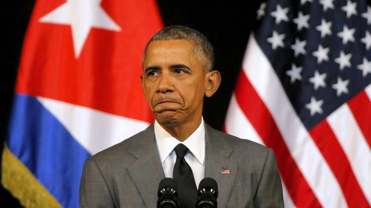 أوباما يعزي كوبا في وفاة كاسترو