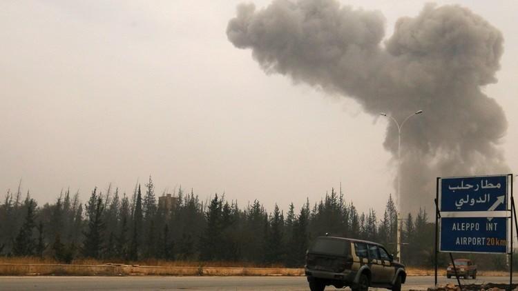 تواصل المعارك شرقي حلب بين الجيش السوري والمسلحين وسط عملية نزوح