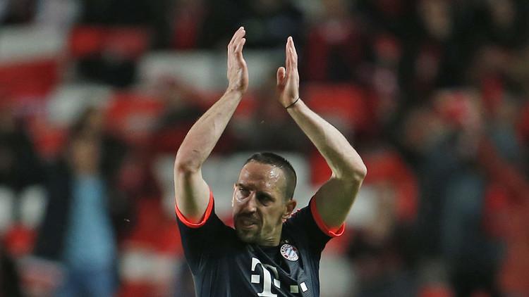 بايرن ميونيخ يمدد عقد ريبيري عاما إضافيا
