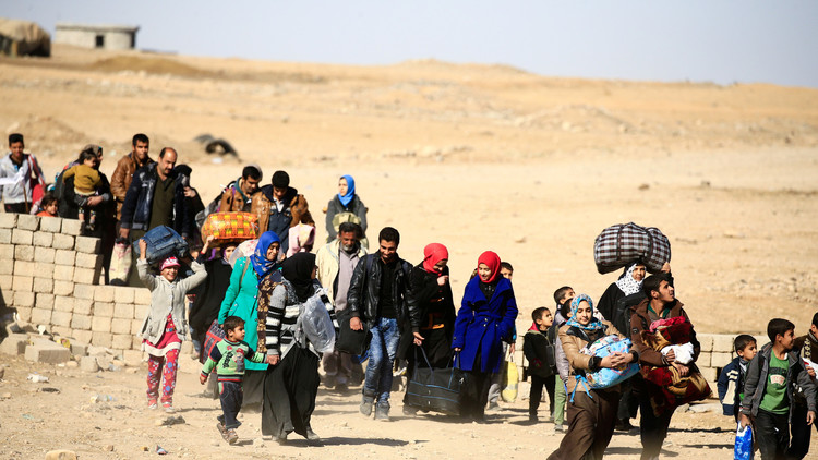 نازحون من الموصل:
