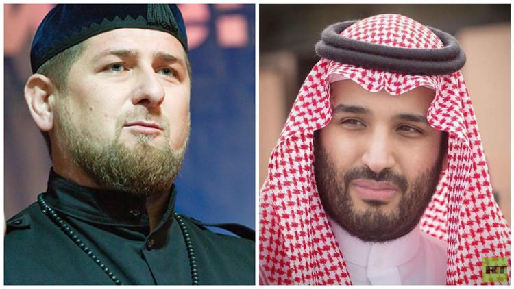 محمد بن سلمان يلتقي قديروف في الدمام