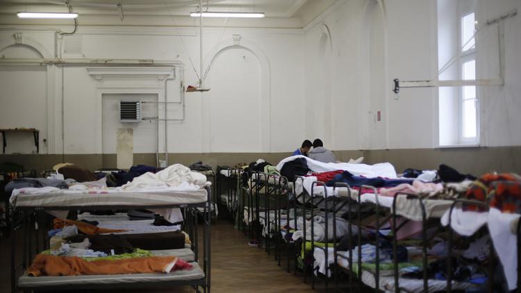 الاعتداء على مركز لإيواء اللاجئين في النمسا