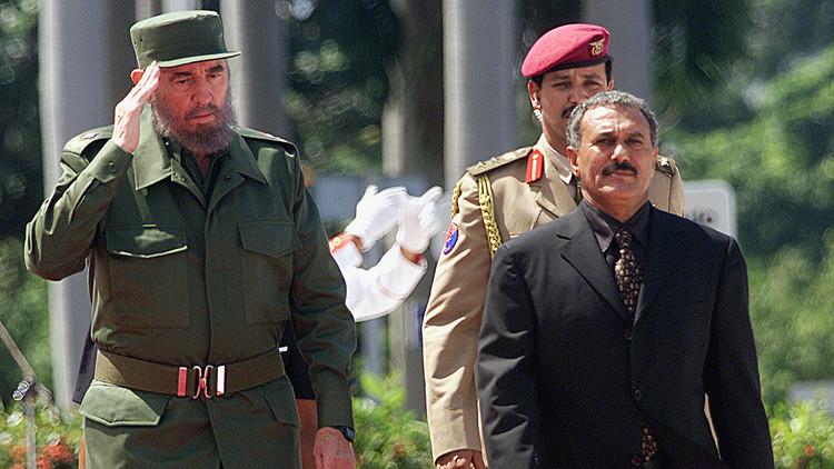 صالح يطلب السماح له بحضور جنازة كاسترو