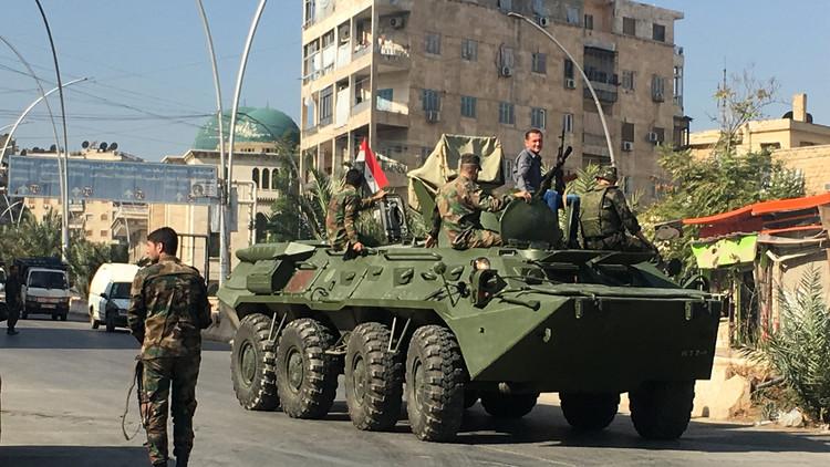 الجيش السوري يستعيد السيطرة على 40% من مساحة حلب الشرقية