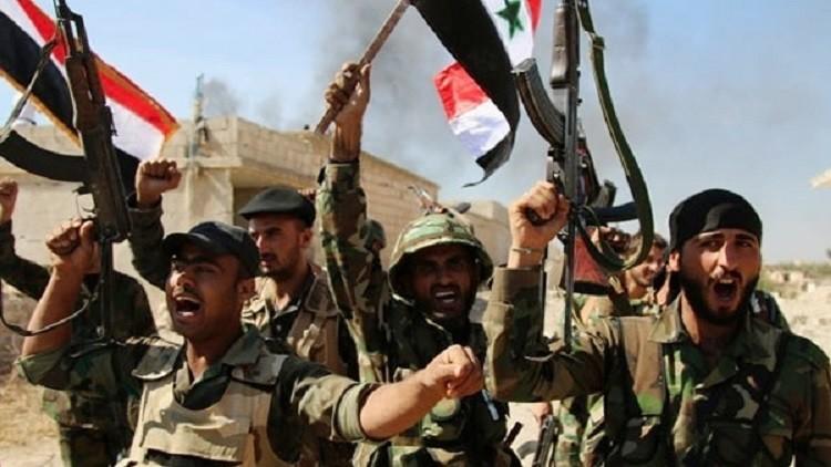 الجيش السوري يشق