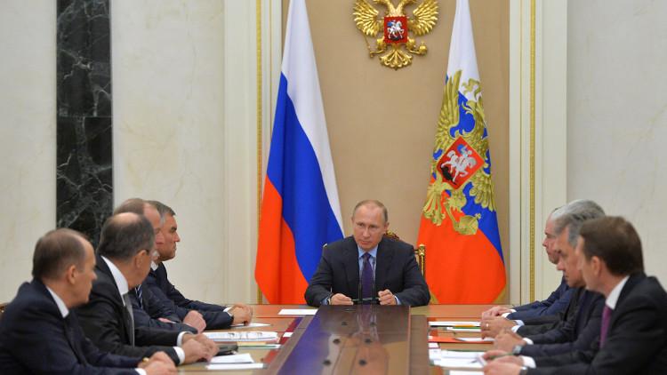 بوتين يبحث مع مجلس الأمن الوضع شرقي حلب