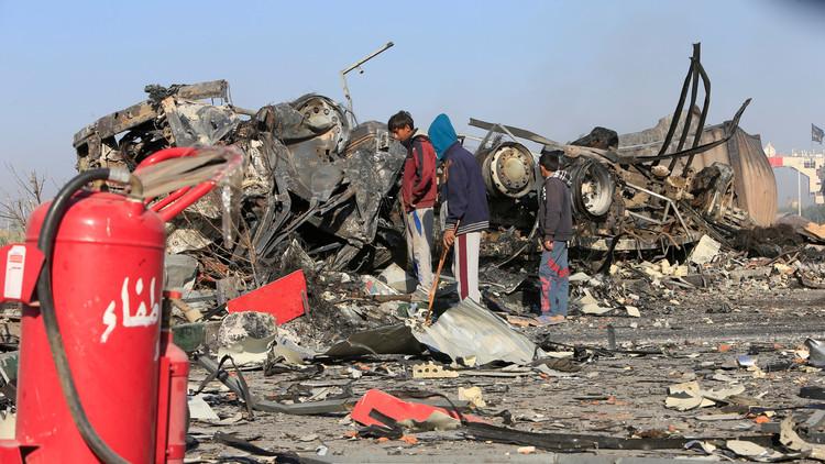 مقتل شخصين بتفجير في سوق شرقي بغداد