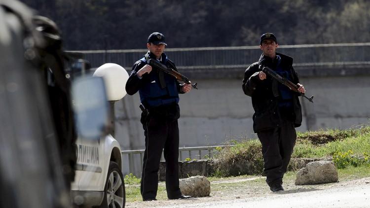 إلقاء زجاجة حارقة على القنصلية التركية بكوسوفو