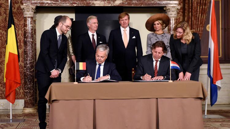 تبادل للأراضي بين هولندا وبلجيكا