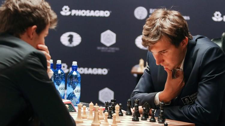 الجليد لم ينكسر على رقعة الشطرنج