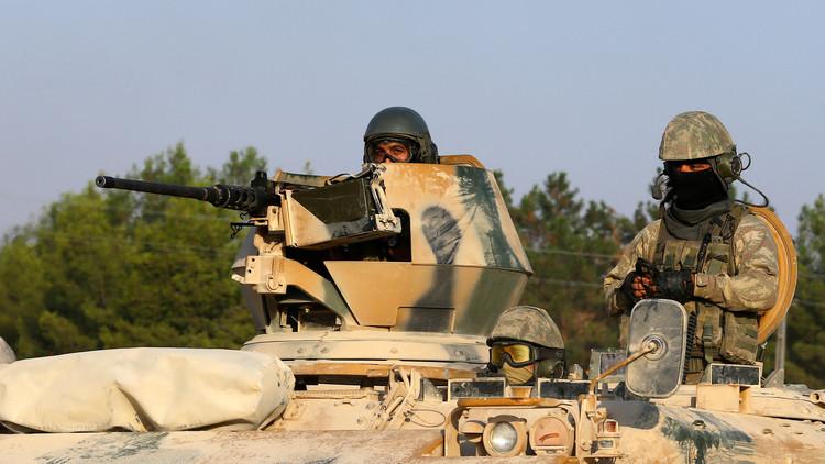 الجيش التركي يفقد الاتصال بجنديين شمالي سوريا