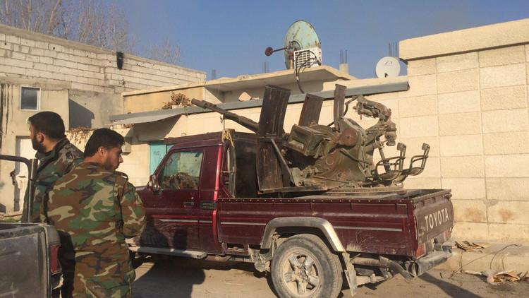 إسرائيل تقصف أهدافا في ريف دمشق الغربي