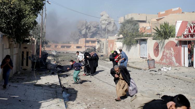 غارة جوية تستهدف عيادة وتقتل 8 مدنيين بالموصل