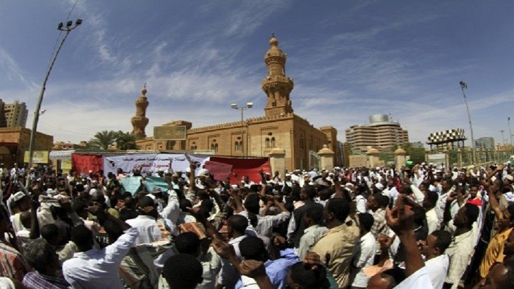 الأمن السوداني يفرق بالقوة تظاهرة في الخرطوم