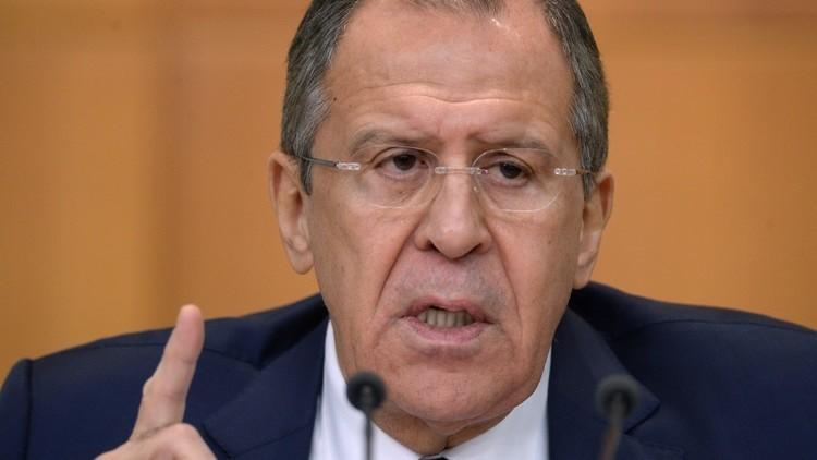 لافروف يحدد مهمة روسيا الرئيسة في سوريا
