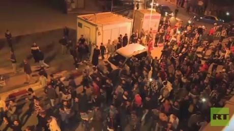 تواصل الاحتجاجات في المغرب