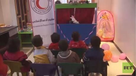 مركز لرعاية متضرري الحرب من أطفال سوريا