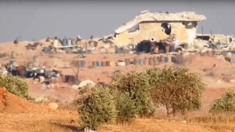 مسلحو المعارضة يستهدفون عناصر حزب الله اللبناني جنوب غرب حلب