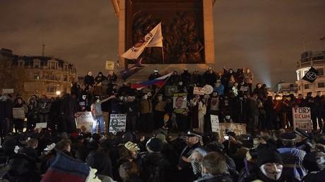 ناشطون مناهضون للرأسمالية في لندن - 5 نوفمبر 2016
