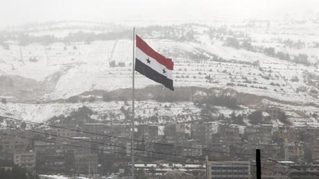 دمشق. صورة من الأرشيف