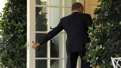 باراك أوباما في البيت الأبيض 9/11/2016
