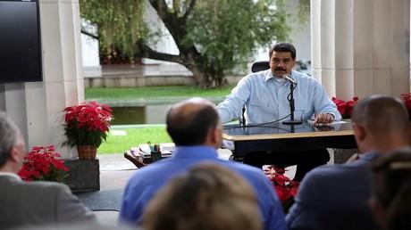 الرئيس الفنزويلي نيكولاس مادورو 14/11/2016