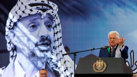 الرئيس الفلسطيني محمود عباس في مهرجان إحياء الذكرى الـ12 على وفاة ياسر عرفات