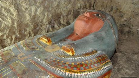 اكتشاف مومياء في مقبرة خادم البيت الملكي في الأقصر