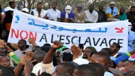 تظاهرة ضد العبودية في نواكشوط