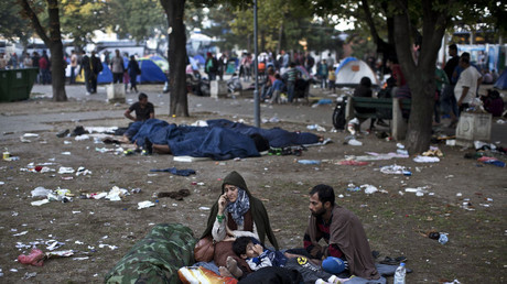لاجؤون في صربيا