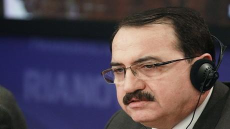 السفير السوري لدى موسكو رياض حداد