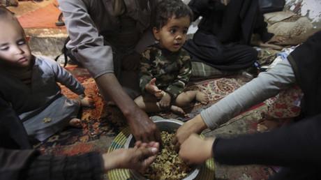 أزمة انسانية في اليمن