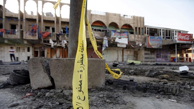 قتيلان و7 جرحى جراء انفجار هز شمال بغداد