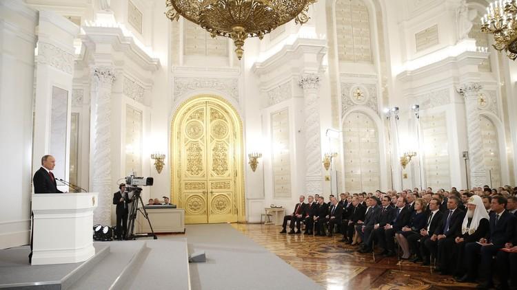 بوتين يكشف عن اتجاهات التطور المستقبلي لروسيا