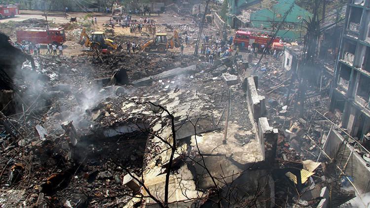 مقتل 18 شخصا بانفجار ضخم هز مصنعا لإنتاج متفجرات في الهند