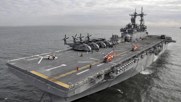 زحمة سفن روسية أمريكية في المتوسط.. وصول سفينتي إنزال أمريكيتين