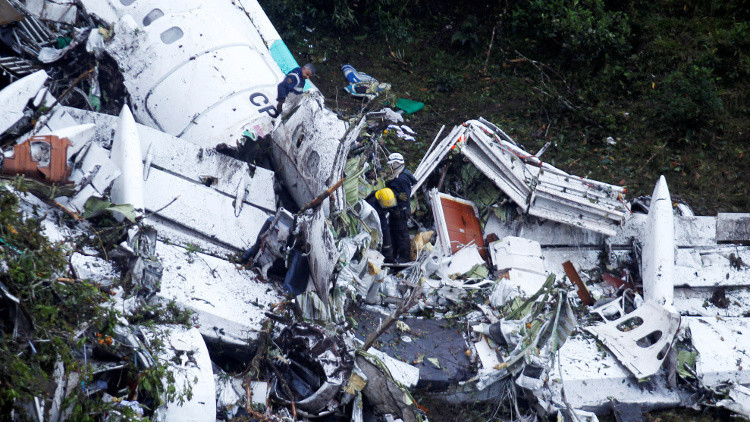 حقائق جديدة عن تحطم الطائرة في كولومبيا