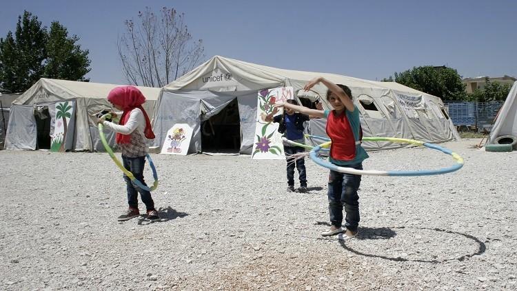 السعودية تغيث النازحين السوريين في لبنان