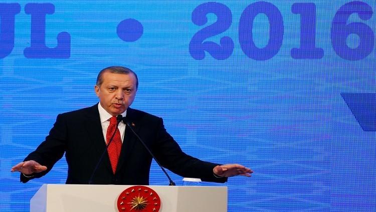 أردوغان يدعو الأتراك لدعم الليرة