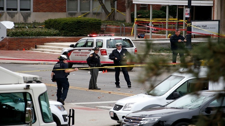 إصابة مواطن روسي في هجوم جامعة أوهايو
