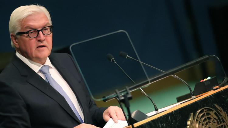 شتاينماير: فرض عقوبات على روسيا لن يساعد في تحسين الوضع بحلب
