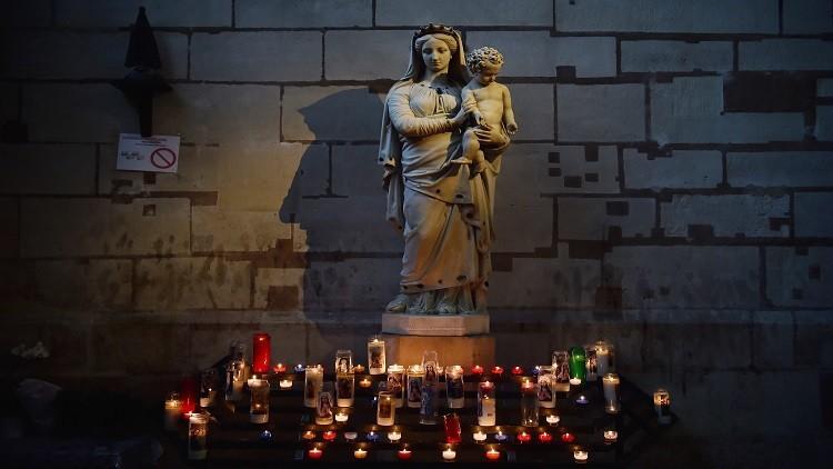 علمانية فرنسا تتسبب في إزالة تمثال للسيدة العذراء من مكان عام