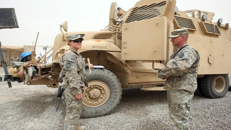 الجيش الأمريكي لا ينوي الانسحاب من العراق حتى بعد هزيمة
