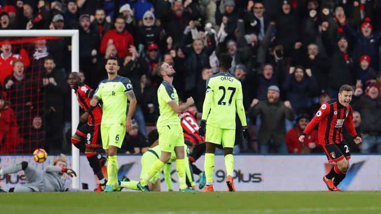 هزيمة تاريخية لليفربول في مباراة مجنونة