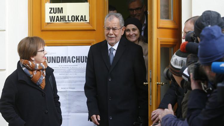 المستقل فان دير بيلين يتقدم على هوفر (أقصى اليمين) في انتخابات رئاسة النمسا