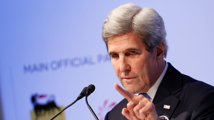 كيري: الحرب في سوريا لن تنتهي إلا بدمج المعارضة في مؤسسات الدولة