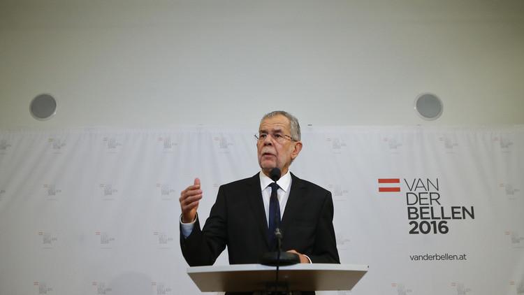 رئيس النمسا المنتخب: فوزي مؤشر إيجابي لأوروبا