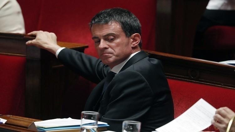 رئيس الوزراء الفرنسي مانويل فالس يعلن ترشحه للانتخابات الرئاسية المقبلة