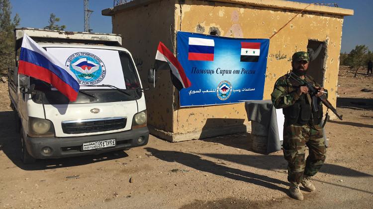 فريق طبي عسكري روسي يبدأ عمله في حلب
